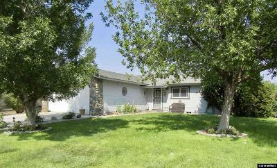 Fernley Single Family Home For Sale: 212 Rosewood Drive