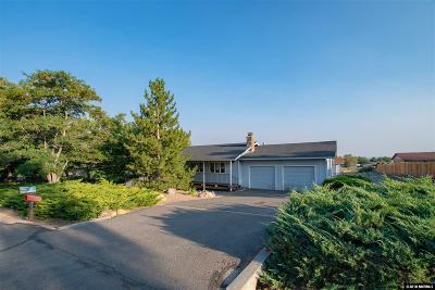 Carson City Single Family Home For Sale: 1771 Jefferson Drive