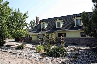 Reno Single Family Home For Sale: 3460 Rolling Ridge #Reno