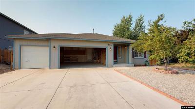 Fernley Single Family Home Active/Pending-Loan: 286 Season Drive