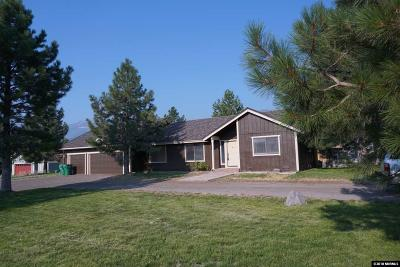 Reno Single Family Home Active/Pending-Loan: 15385 Callahan Road
