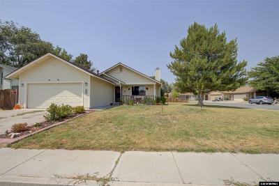 Carson City Single Family Home Active/Pending-Call: 2786 Panamint Rd