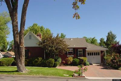 Reno Single Family Home For Sale: 751 W Pueblo