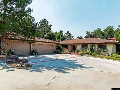 Washoe County Single Family Home For Sale: 14025 Edmands Drive