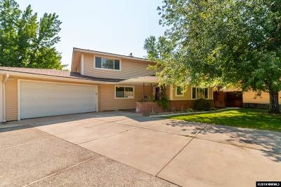 Reno Single Family Home For Sale: 940 Manor