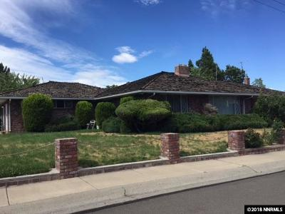 Reno Single Family Home For Sale: 375 Country Club Dr.