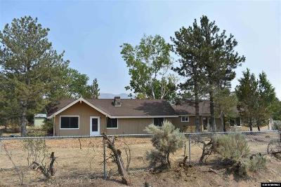 Washoe County Single Family Home For Sale: 3900 Ormsby