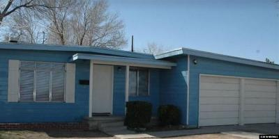 Reno Single Family Home For Sale: 1701 Harvard Way