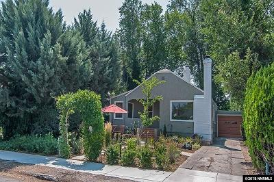 Reno Single Family Home Active/Pending-Loan: 362 W Arroyo Street
