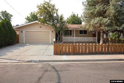 Carson City Single Family Home For Sale: 1315 Goldfield