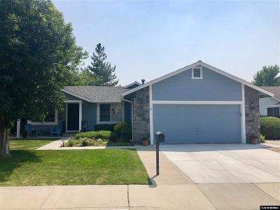 Sparks Single Family Home For Sale: 1391 Satellite Drive