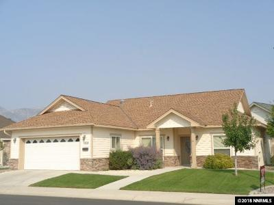 Gardnerville Single Family Home Active/Pending-Call: 1203 W Cottage Loop