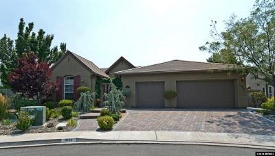 Reno Single Family Home Active/Pending-Loan: 1698 Bridgeview Court