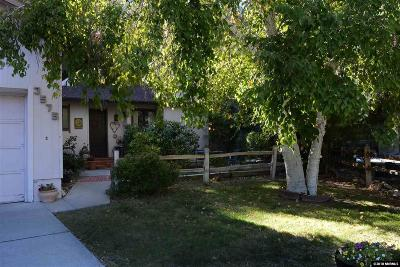 Washoe County Single Family Home For Sale: 3575 Blue Jay