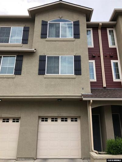 Sparks Condo/Townhouse For Sale: 3133 Sterling Ridge