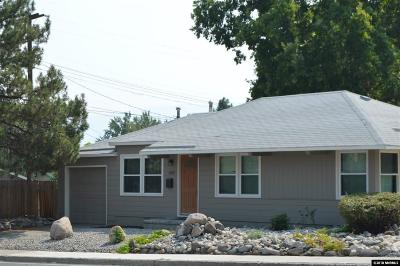 Washoe County Single Family Home Active/Pending-Call: 1395 Keystone