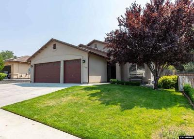 Sparks Single Family Home For Sale: 1565 Istrice Rd