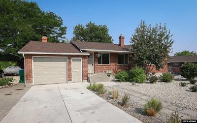 Reno Single Family Home For Sale: 840 Kirman Ave