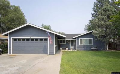 Carson City Single Family Home For Sale: 3 Arizona Cir