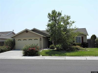Fernley Single Family Home For Sale: 1567 Reese River Rd