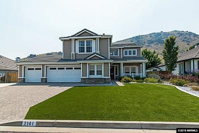 Carson City Single Family Home Active/Pending-Loan: 2141 St. George Way