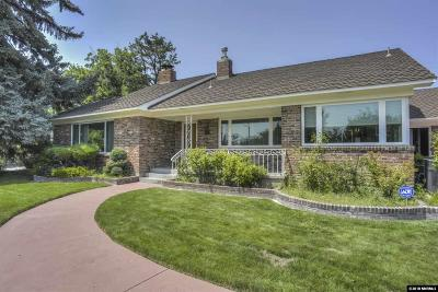 Reno Single Family Home For Sale: 1725 Circle Dr