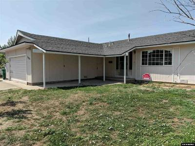 Sparks Single Family Home Active/Pending-Loan: 3225 Elaine Way