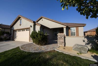 Reno Single Family Home For Sale: 1540 Meridian Ranch Drive