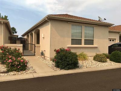 Carson City Single Family Home Active/Pending-Loan: 1212 Bandtail