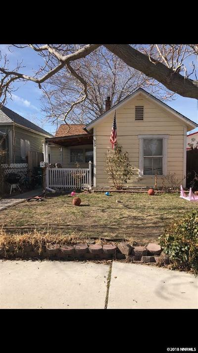Sparks Single Family Home New: 533 7th Street
