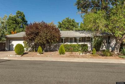 Reno Single Family Home For Sale: 1450 Samuel Way