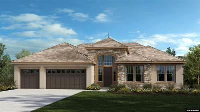 Washoe County Single Family Home New: 9105 Hudson Drive #Lot 157