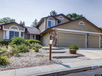 Washoe County Single Family Home New: 1585 Havencrest