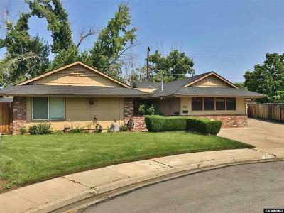Sparks Single Family Home New: 1700 Oppio Circle