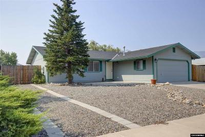 Gardnerville Single Family Home Active/Pending-Loan: 1369 Rancho Rd