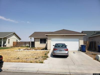 Fernley Single Family Home Active/Pending-Loan: 516 St. Louis
