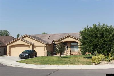 Yerington Single Family Home For Sale: 111 Brassie Ct.