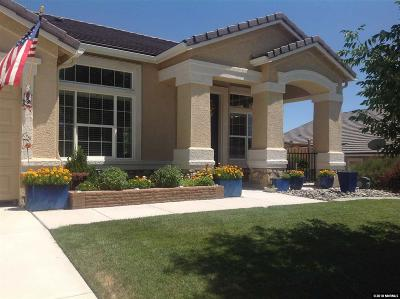 Washoe County Single Family Home New: 7358 Lacerta Drive