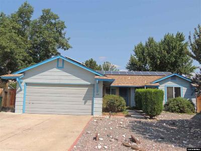 Sparks Single Family Home Active/Pending-Loan: 1852 Espee Court