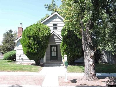 Carson City Single Family Home Active/Pending-Loan: 314 W Robinson St