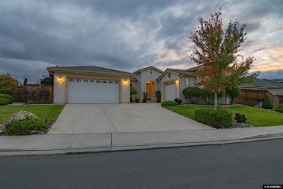 Sparks Single Family Home New: 3900 Desert Fox Dr