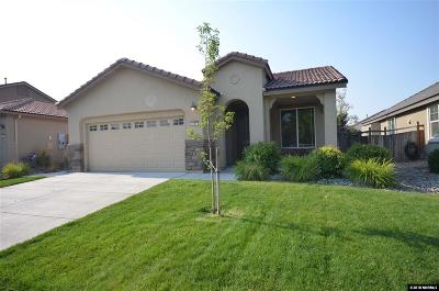 Washoe County Single Family Home New: 3727 Perseus Drive