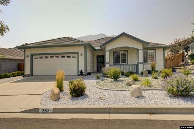 Carson City Single Family Home Active/Pending-House: 257 Coventry Drive