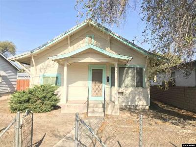 Fallon Single Family Home For Sale: 295 S Taylor St