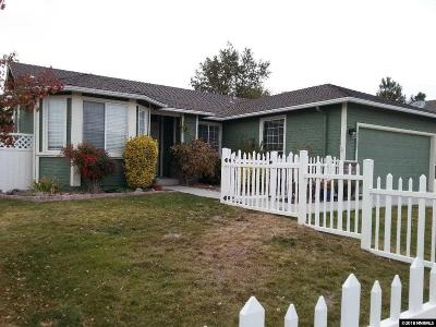 Washoe County Single Family Home New: 3263 Epic Avenue