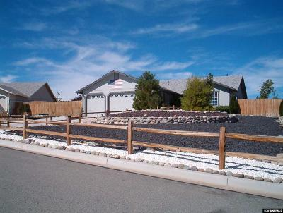 Washoe County Single Family Home New: 28 Cormorant Ct.