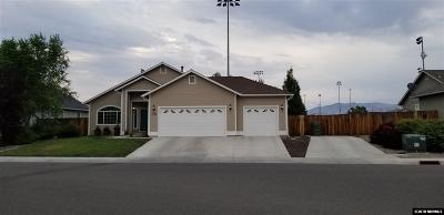 Gardnerville Single Family Home New: 1447 Cardiff