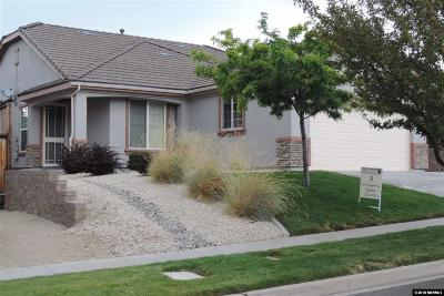 Reno Single Family Home New: 1209 Firefly Ct #Tahoe