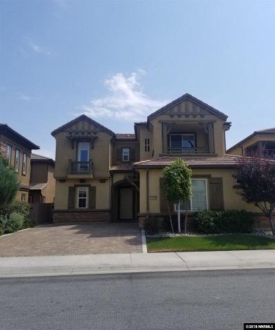 Reno Single Family Home New: 10890 Serratina