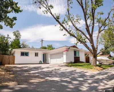 Washoe County Single Family Home New: 637 Ibis Ln